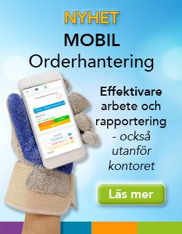 Nyhet - Mobil Orderhantering